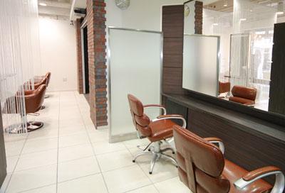 美容室ヴァンカウンシル松本店カットブース