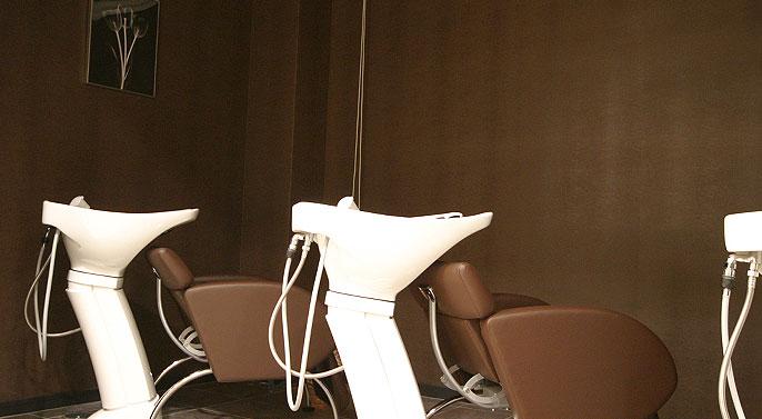 美容室ヴァンカウンシル松本店シャンプーブース